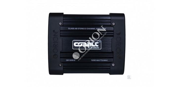 ORION COBALT CB1200.2, 2 CHANNEL AMP 1200 WATTS