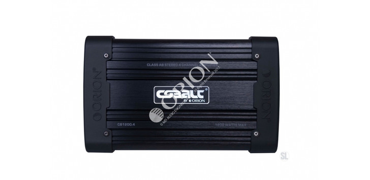 ORION COBALT CB1200.4, 4 CHANNEL AMP 1200 WATTS STEREO 2400 WATTS MAX