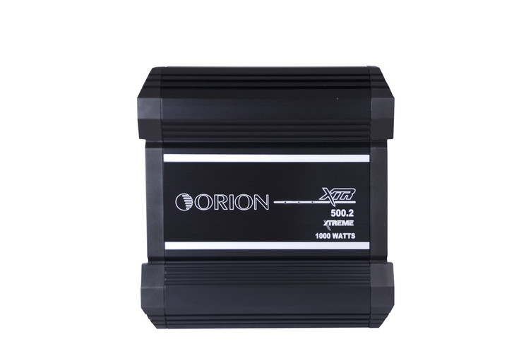 ORION XTR XTR500.2, 2 CHANNEL AMPLIFIER 500 WATTS RMS W/X-Over