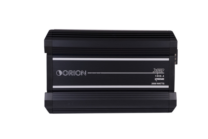 ORION XTR XTR1000.4, 4 CHANNEL AMPLIFIER 1000 WATTS RMS W/X-OVER