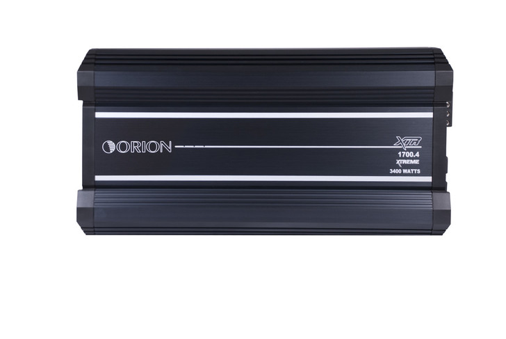 ORION XTR XTR1700.4, 4 CHANNEL AMPLIFIER 1700 WATTS RMS W/X-OVER