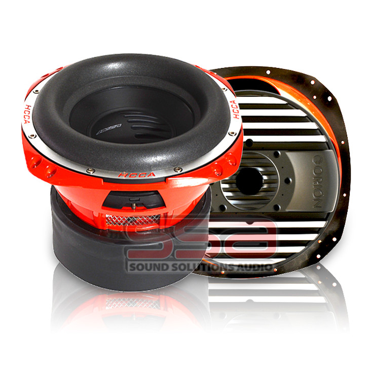 """ORION HCCA HCCA12, SUBWOOFER 12"""" 2500 WATTS RMS DUAL VC HCCA122 