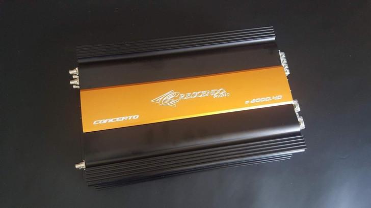 Crescendo Audio C2000.4D - 520 watts x 4 channel Concerto Series Amplifier