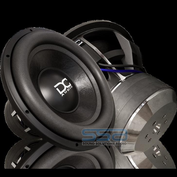 """DC Audio Elite XL15 M4 15""""  2200w Subwoofer"""