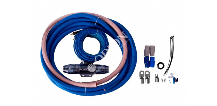 ORION XTR WIRED COMPLETE 100% COPPER AMPLIFIER KIT 0 GAUGE SOFT RUBBER