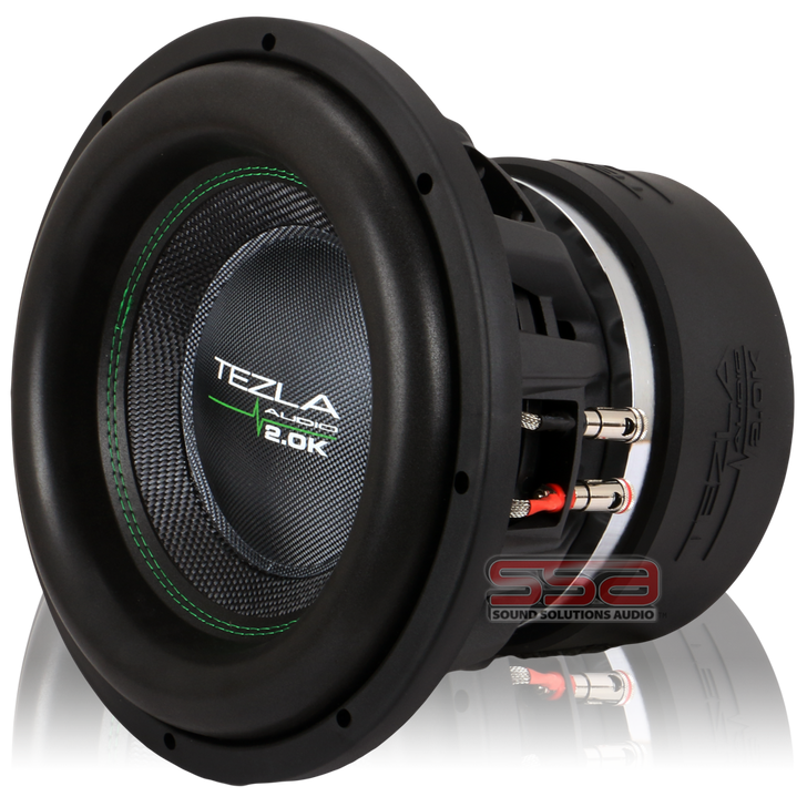 """12"""" 2000w RMS Subwoofer 2.0K Series by Tezla Audio"""