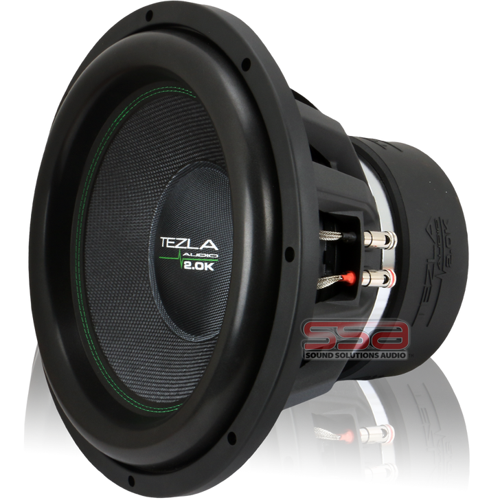 """15"""" 2000w RMS Subwoofer 2.0K Series by Tezla Audio"""