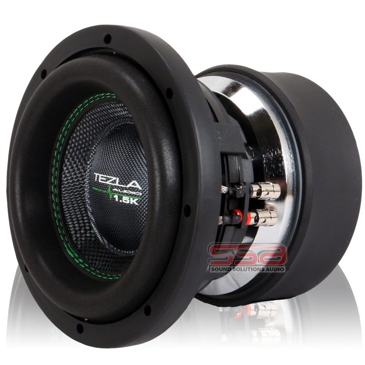 """8"""" 750w RMS Subwoofer 1.5K Series by Tezla Audio"""