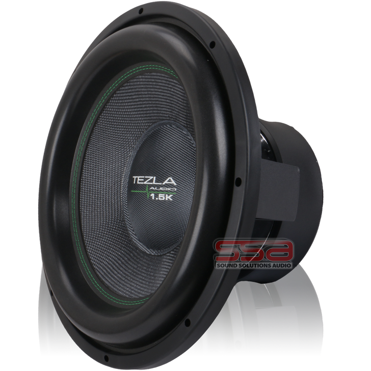 """15"""" 1000w RMS Subwoofer 1.5K Series by Tezla Audio"""
