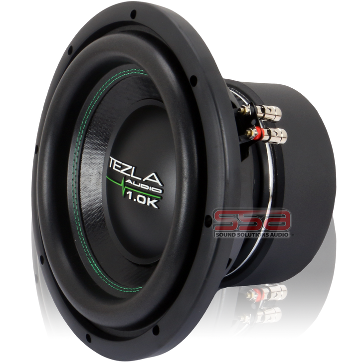 """10"""" 750w RMS Subwoofer 1.0K Series by Tezla Audio"""