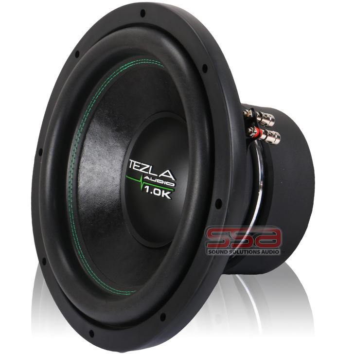 """12"""" 750w RMS Subwoofer 1.0K Series by Tezla Audio"""