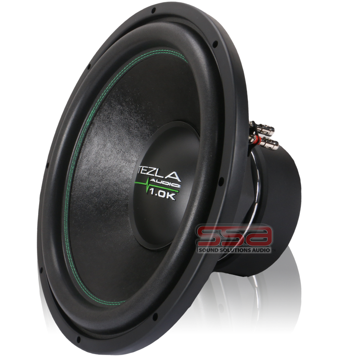 """15"""" 750w RMS Subwoofer 1.0K Series by Tezla Audio"""