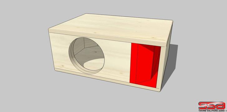 Hitchbox Single F8L Enclosure