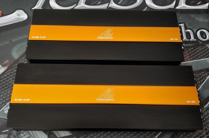 Crescendo BassClef-4k 4000w Monoblock Amplifier