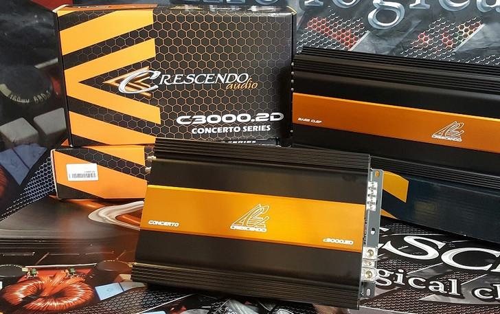 Crescendo C3000.2D 2-channel Class-D amplifier