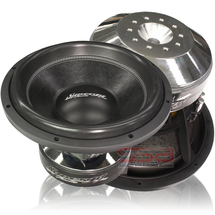 """WFO2K 15"""" 2500w RMS Subwoofer by Synergy Audio"""