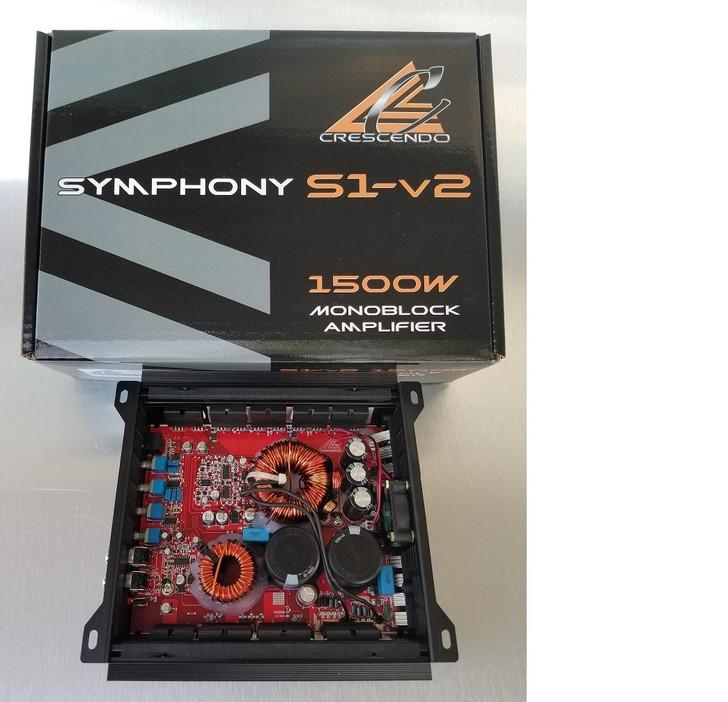 Crescendo Audio Symphony S1V2 1650w RMS Monoblock Amplifier