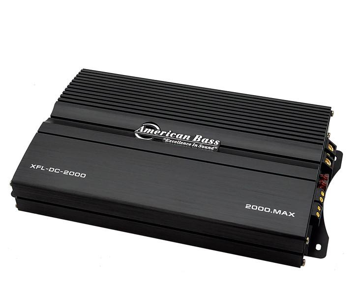 American Bass XFL DC 2000 Mono Block Amplifier