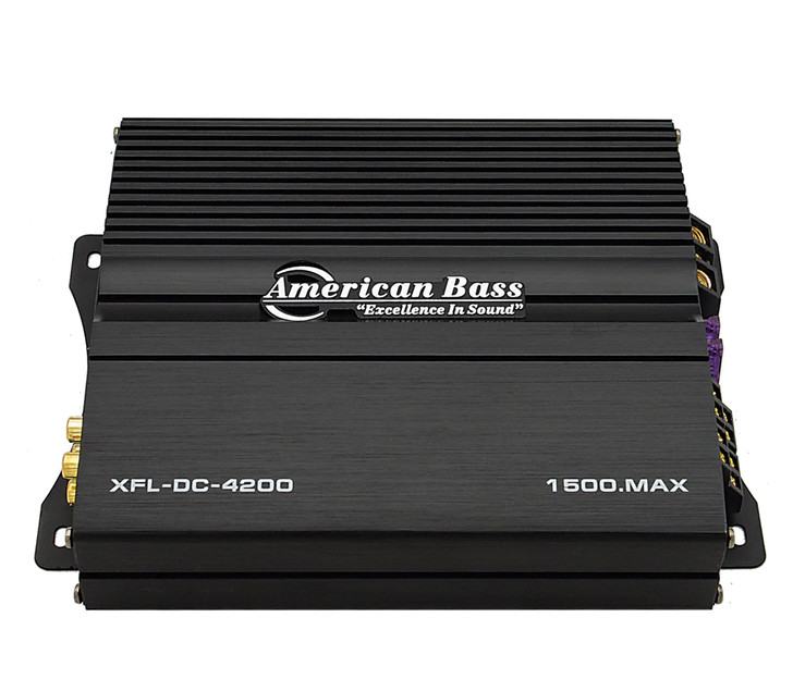 American Bass XFL DC 4200 4 Channel Amplifier