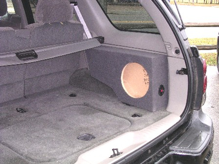 SINGLE SUB BOX FOR SIDE CARGO 2002-2009 CHEVROLET TRAILBLAZER / GMC ENVOY