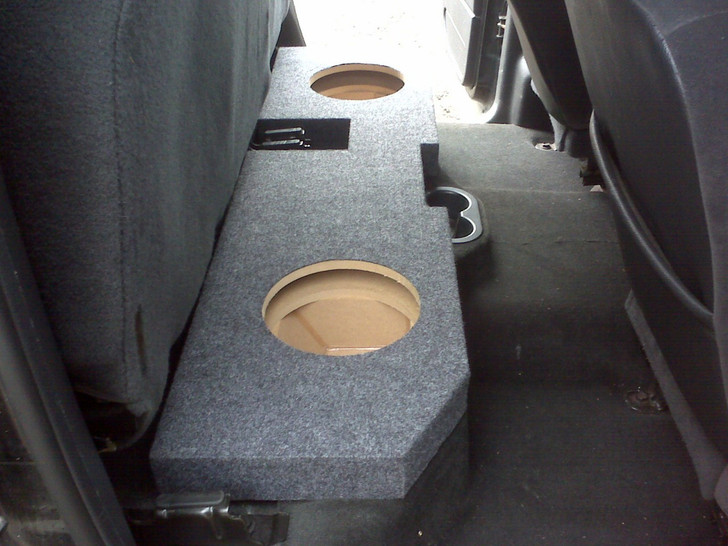 2002 to 2018 DODGE RAM QUAD and CREW CAB TRUCK DUAL SUB BOX
