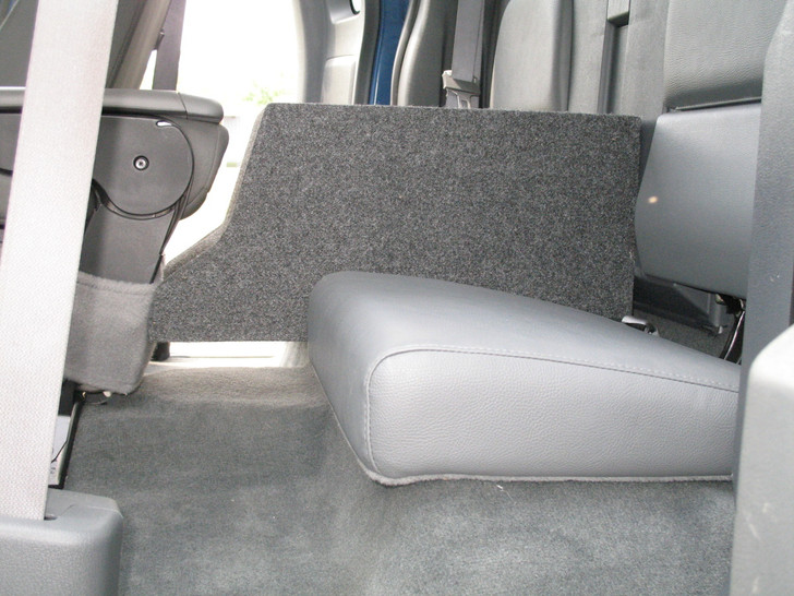 2005-2013 DODGE DAKOTA EXTENDED CAB CONSOLE SUB BOX