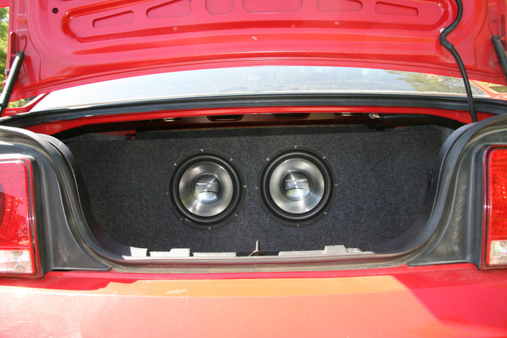 2005-2013 FORD MUSTANG COUPE DUAL SUB BOX