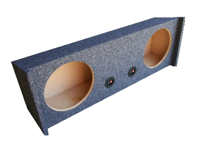 All Years SPORT UTILITY VEHICLE DUAL DOWNFIRE SUBWOOFER ENCLOSURE