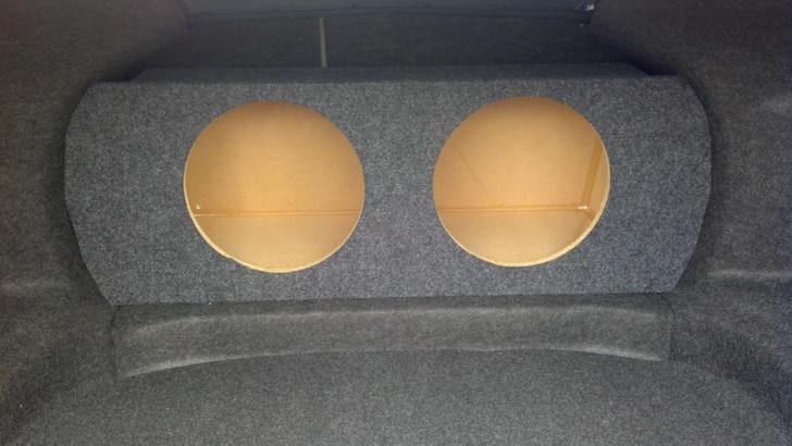 Dual Sub Box 2010-2013 Ford Taurus 6th Generation