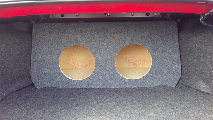 Dual Sub Box 2006-2013 Chevrolet Impala
