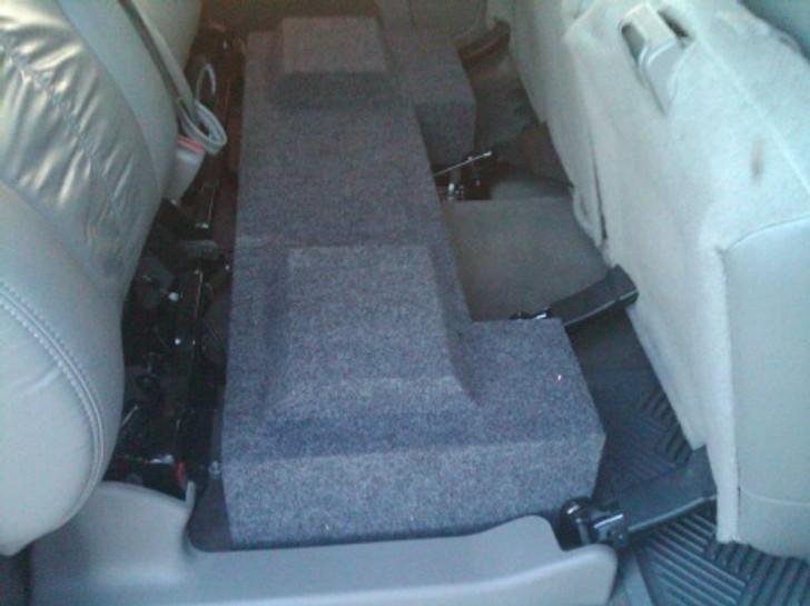 DUAL SUB BOX 2001-2006 GM SIERRA CREW HD