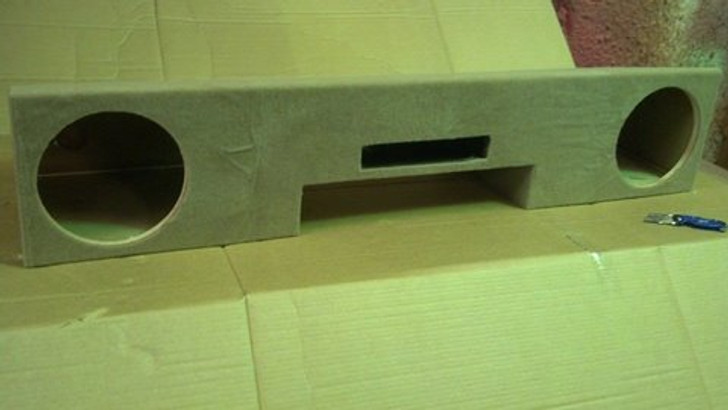 PORTED DUAL SUB BOX 1999-2006 GM SIERRA EXTENDED CAB