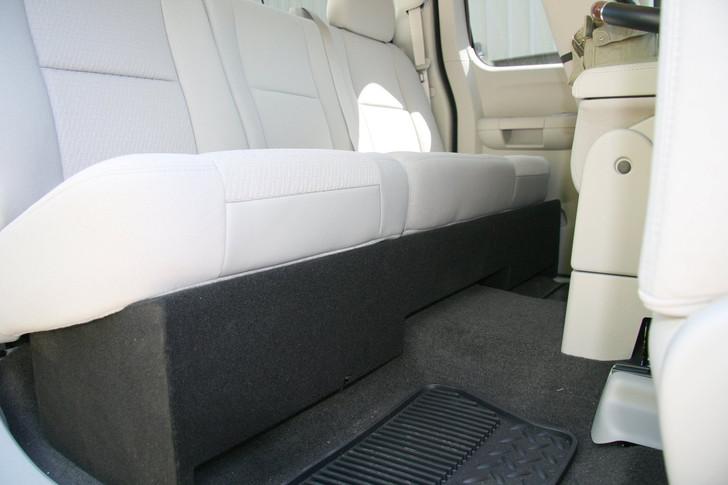 DUAL SUB BOX 2007-2013 GM SIERRA EXTENDED CAB