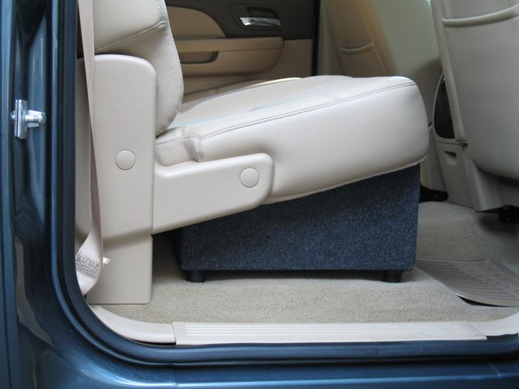 DEEP Sub box- 2007-2013 Chevy Silverado/GM Sierra Crew Dual Box