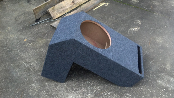 VENTED BOX FOR 2004-2006 TUNDRA DOUBLE and CREW CAB