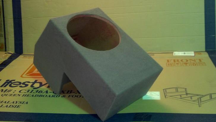 SINGLE UPFIRE SUB BOX 2005-2009 TOYOTA TACOMA ACCESS