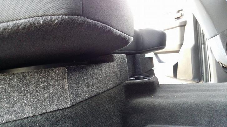NEW DEEP SUB BOX 2002-2018 Dodge Ram Quad Crew Dual Sub Box