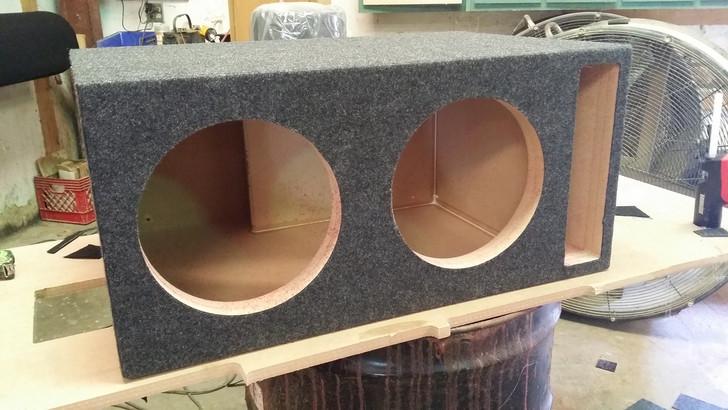 Dual 10 Vented Sub Box