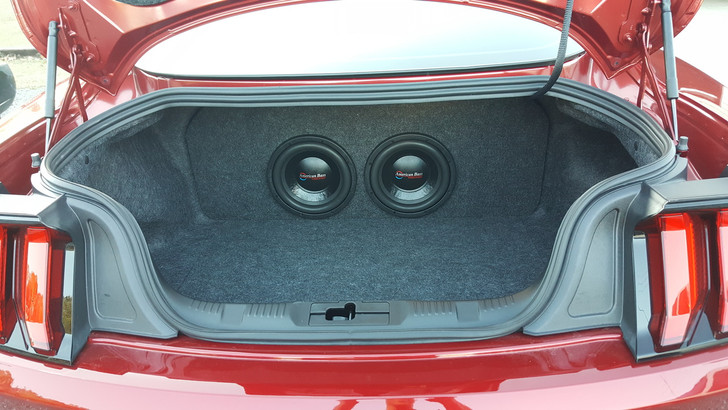 2015-18 FORD MUSTANG SUBWOOFER BOX
