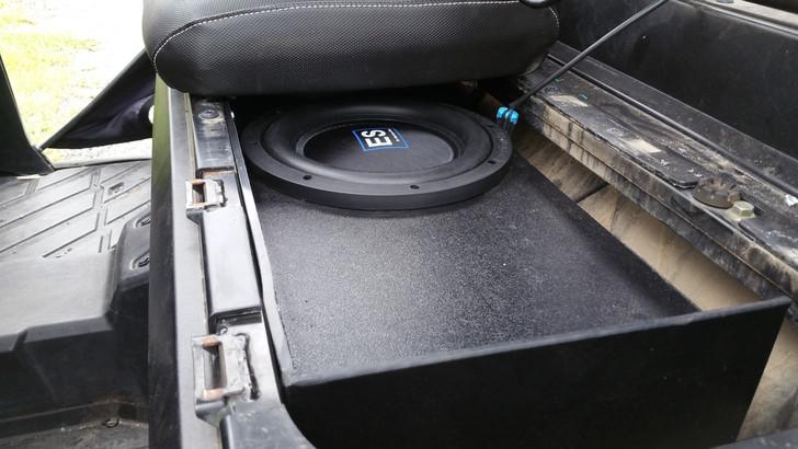 NEW POLARIS RANGER CREW CAB DUAL 10 VENTED SPEAKER BOX