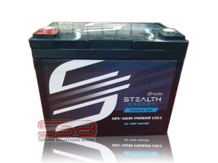 Stealth 350 (12V35AH) AGM Battery by American Bass