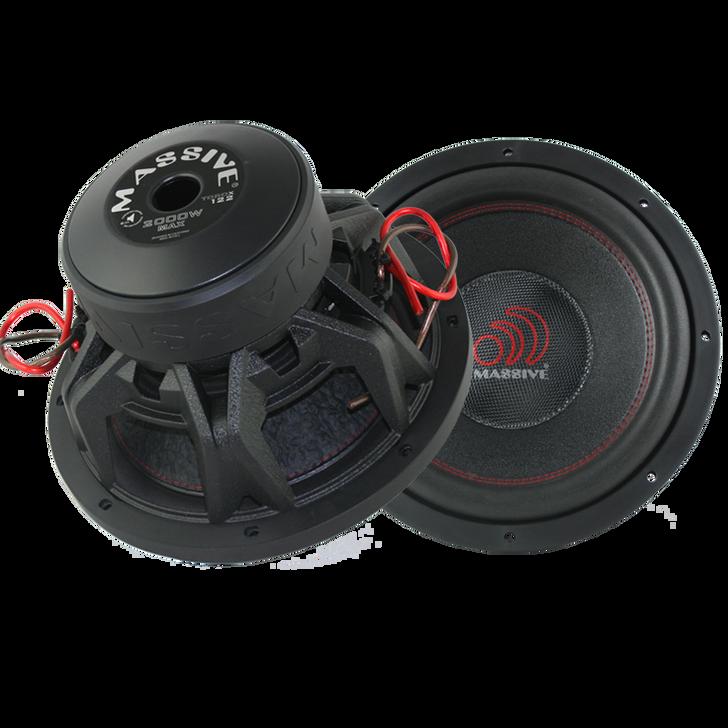 "KiloX12  - 12"" 1000w KiloX Series Subwoofer by Massive Audio®"