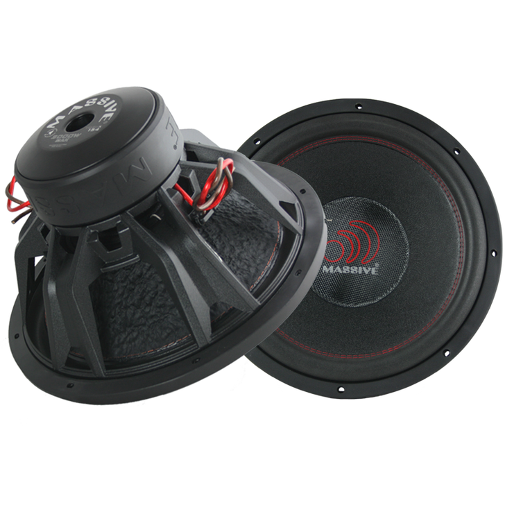 "KiloX154  - 15"" 1000w Dual 4 Ohm Kilox Series Subwoofer by Massive Audio®"