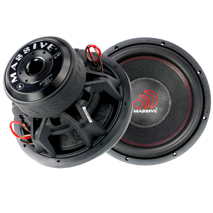 """SUMMOXL124  - 12"""" 1,500w Dual 4 Ohm SummoXL Series Subwoofer by Massive Audio®"""