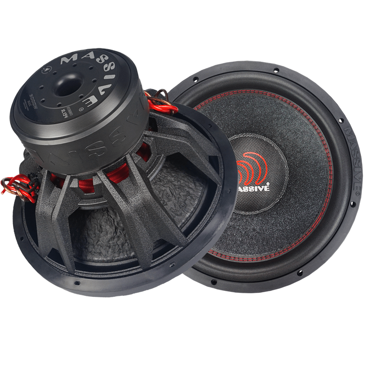 """SUMMOXL154  - 15"""" 1,500w Dual 4 Ohm SummoXL Series Subwoofer by Massive Audio®"""