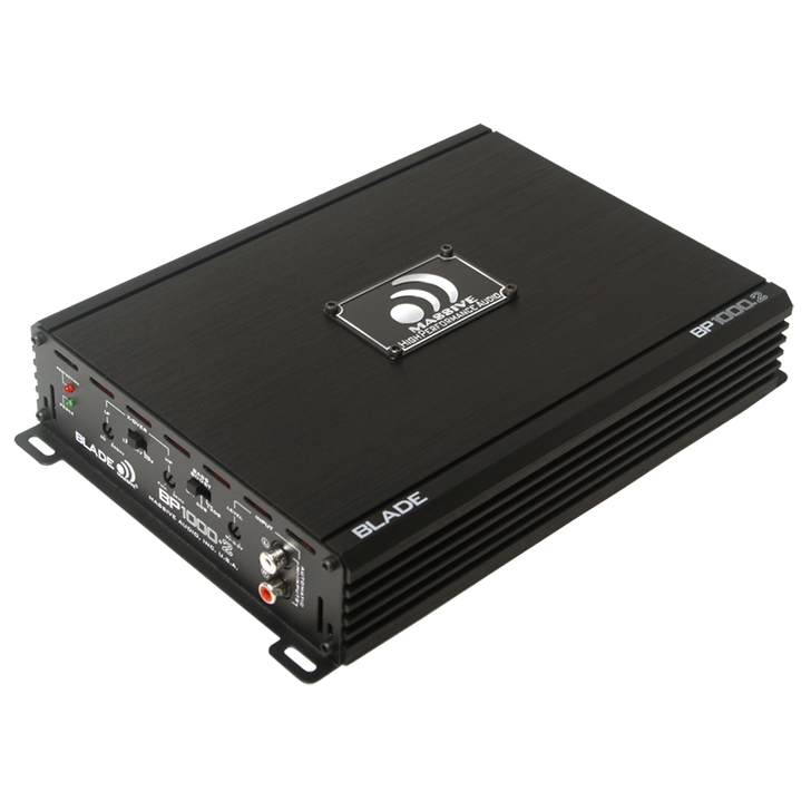 BP1000.2 - 160 WATTS RMS X 2 @ 4 OHM 2 CHANNEL AMPLIFIER by Massive Audio®