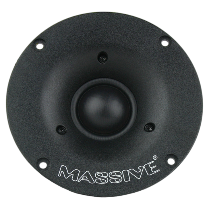 CT30 - 60 WATTS RMS FLUSH MOUNT 30MM SILK DOME TWEETERS by Massive Audio®