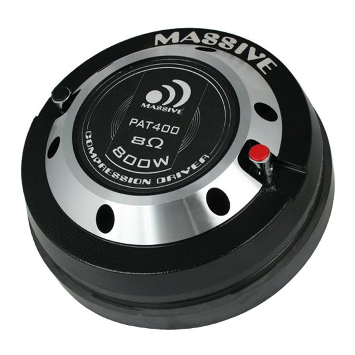 "PAT 400 - 2"" BOLT-ON 400 WATT 8 OHM COMPRESSION DRIVER by Massive Audio®"