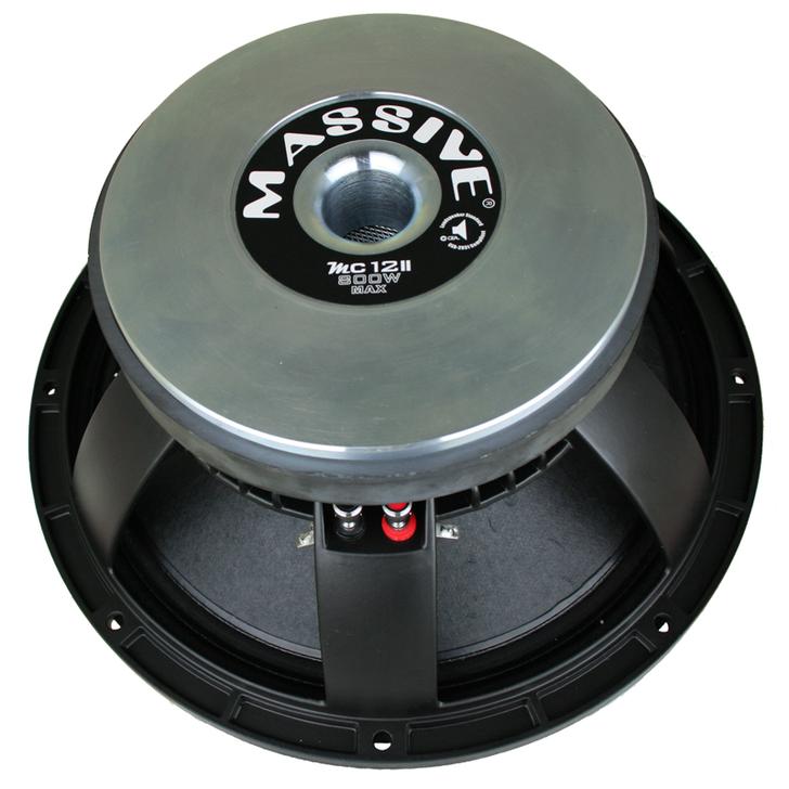 "MC12II - 12"" 400 WATT 8 OHM MID-RANGE SPEAKER CAST BASKET by Massive Audio®"