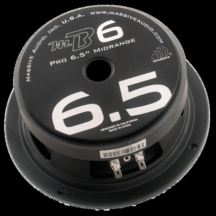 """MB6 - 6.5"""" 150 WATT 4 OHM MID-BASS SPEAKER by Massive Audio®"""